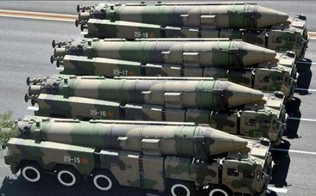 Tên lửa Đông Phong DF-21D - sát thủ tàu sân bay của Trung Quốc