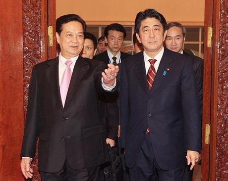 Thủ tướng Nguyễn Tấn Dũng thăm chính thức Nhật Bản
