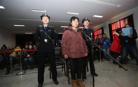 Bác sĩ Zhang Shuxia tại tòa ngày 30/12.