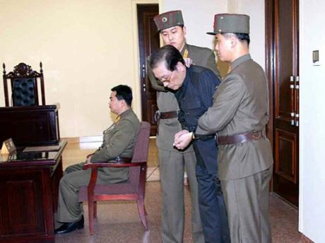 Ông Jang Song-thaek bị kết án tử hình trong một phiên tòa quân sự và bị xử tử hôm 12/12.