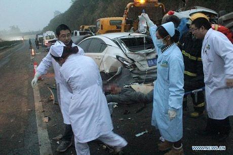 Vụ tai nạn đã làm 8 người chết và 23 người khác bị thương.