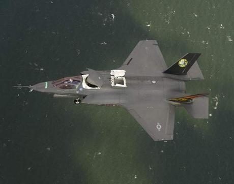 Chiến đấu cơ F-35 của Mỹ.