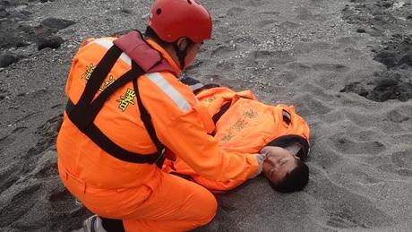 Tseng Lien-fa được tìm thấy trên bờ biển hôm 5/1.