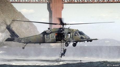 Trực thăng Pave Hawklà phiên bản dành cho không quân Mỹ của Black Hawk.