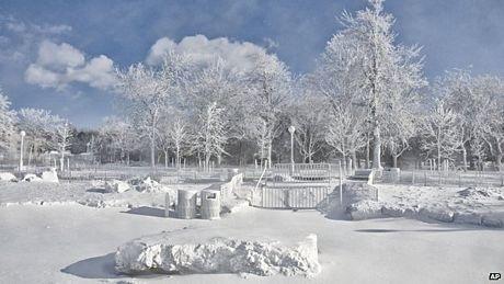 """Đợt lạnh kỷ lục đầu năm tại Mỹ xuất phát một hiện tượng thời tiết có tên gọi """"Cơn lốc Bắc Cực""""."""