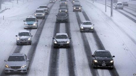 """""""Cơn lốc Bắc Cực"""" đã khiến nhiệt độ ở nhiều nơi xuống mức dưới -30 độ C."""