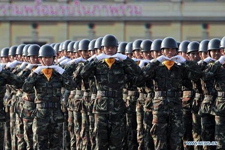 Cuộc diễu binh có sự tham gia các lực lượng từ cácbinh chủng của quân đội nước này.