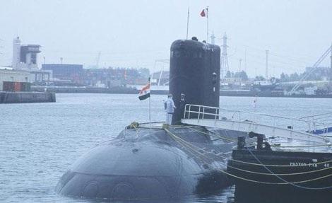 Tàu ngầm INS Sindhuratna.