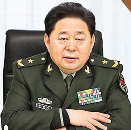 Trung tướng Cốc Tuấn Sơn.
