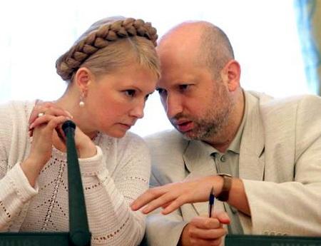 Tổng thống lâm thời Ukraine Oleksandr Turchynov, một đồng minh của cựu Thủ tướng Yulia Tymoshenko.