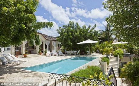 Biệt thự Rosina, nơi gia đình Công nương Catherine nghỉ ngơi trên đảo Mustique.