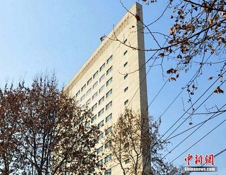 """Trung Quốc: Tòa nhà 16 tầng """"mỏng như tờ giấy"""""""