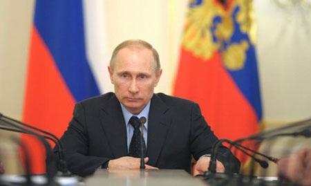 Tổng thống Nga V.Putin. Ảnh: Rian