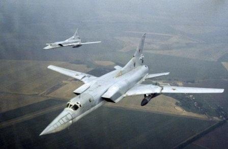 Máy bay ném bom chiến lược của Nga.