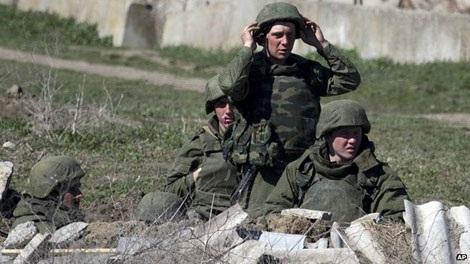 Lực lượng thân Nga đã bao vây căn cứ Feodosia trong những ngày gần đây.