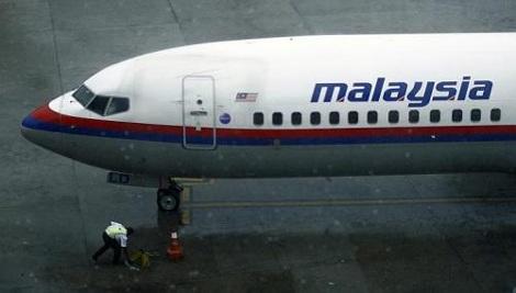 Máy bay Malaysia Airlines bị vỡ kính buồng lái vì chim