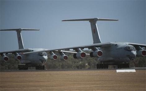 Các máy bay Trung Quốc có mặt Úc tham gia cuộc tìm kiếm MH370.