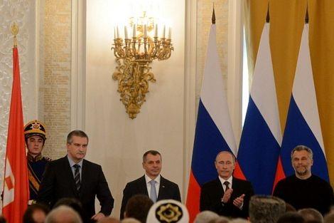 Lễ ký hiệp ước sáp nhập Crimea vào Nga