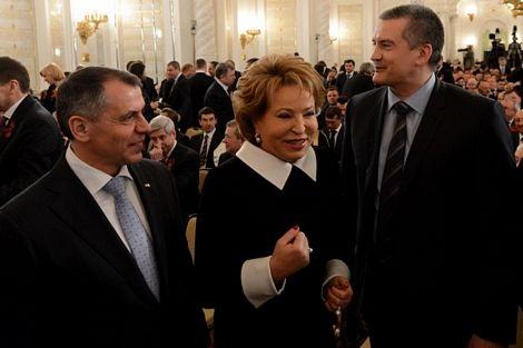 Các lãnh đạo Crimea cũng có các cuộc trò chuyện với giới chức Nga.