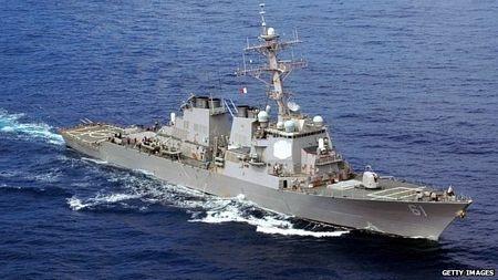 Tàu chiến USS Ramage của Mỹ đã có mặt tại Biển Đen nhưng nhiều khả năng sẽ không hành động gì.