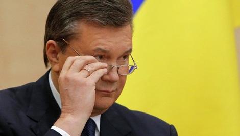 Tổng thống bị lật đổ Viktor Yanukovych.