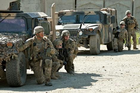 Các binh sĩ Mỹ. (Ảnh minh họa)