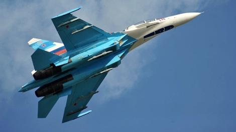 Trực thăng Su-27 của Nga.