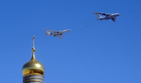 Các máy bay Nga trong một cuộc tổng duyệt ở Mátxcơva. (Ảnh minh họa)