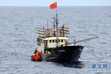 Một tàu cá của Trung Quốc. (Ảnh minh họa)