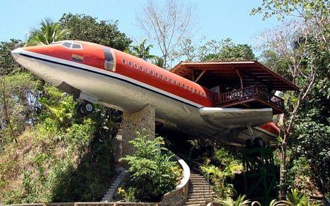 Máy bay Boeing cũ thành khách sạn hạng sang