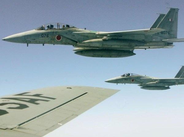 Các máy bay chiến đấu của Nhật Bản. (Ảnh minh họa)