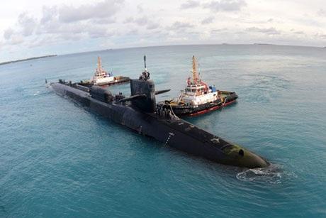 Tàu ngầm tên lửa Georgia của hải quân Mỹ