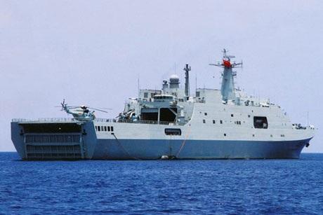 Tàu tấn công - đổ bộ Type 071 của TQ