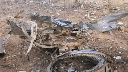 Cây cối cũng bị thiêu rụi do vụ tai nạn.