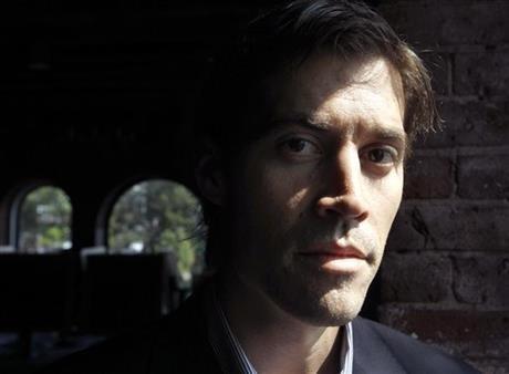 Nhà báo James Foley, nạn nhân của IS (Nguồn AP)