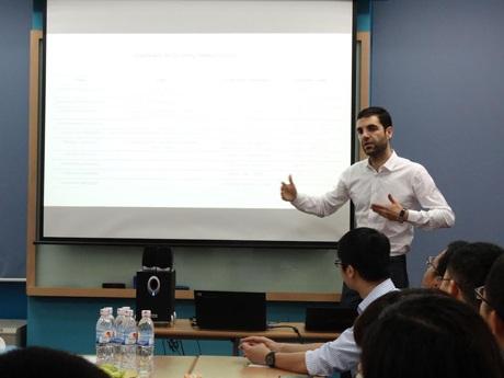 Tọa đàm về Khởi nghiệp Kinh doanh tại CFVG.