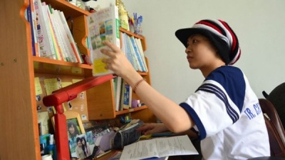 Cô bé Trương Huỳnh Ngân.