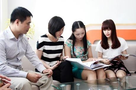 Học viên chương trình DAS đăm chiêu với những bài tập giải quyết tình huống