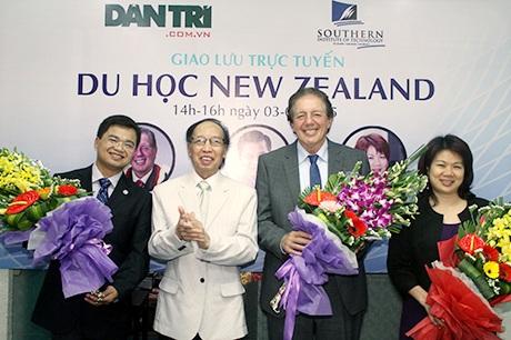Bắt đầu giao lưu trực tuyến về du học New Zealand