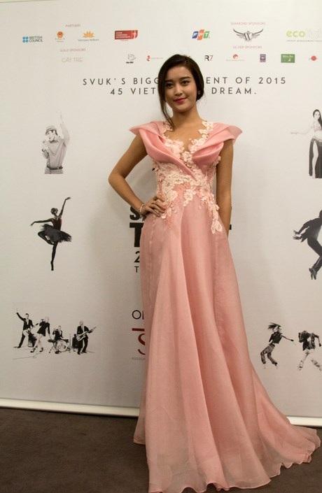 Á hậu Huyền My góp mặt cuộc thi SVUK's Got Talent với tư cách giám khảo.