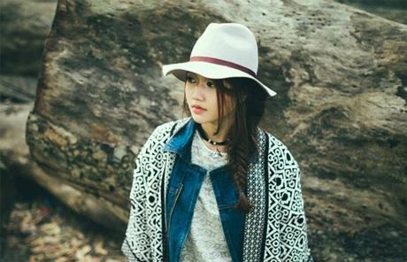 Gương mặt xinh ngất ngây của hot girl xinh đẹp Sài Thành.