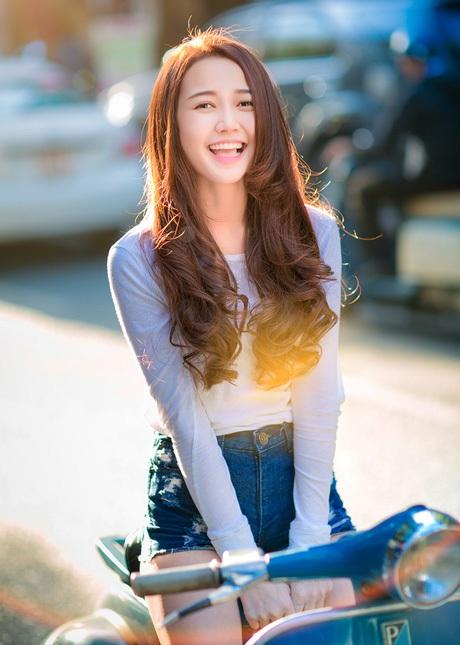 Nụ cười ngọt ngào của hot girl nhóm Phở