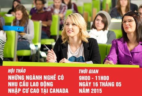 Hội thảo 02: Những ngành nghề có nhu cầu lao động nhập cư cao tại Canada