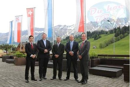 Đại diện Cầu Xanh trong chuyến thăm Thụy Sĩ thường niên và làm việc tại HTMi.