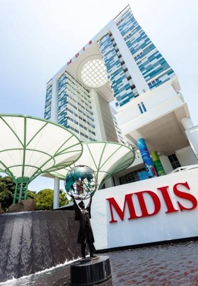 Khu Kí túc xá 15 tầng trong khuôn viên học viện MDIS