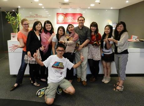 Học sinh của học viện SSTC, Singapore