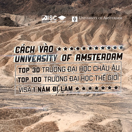 Chương trình du học vừa học vừa làm tại Hà Lan