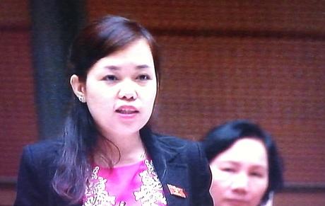 Đại biểu Vi Thị Hương