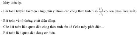 VẤN ĐỀ 4. DAO ĐỘNG ĐIỆN TỪ (4 câu trong đề thi)