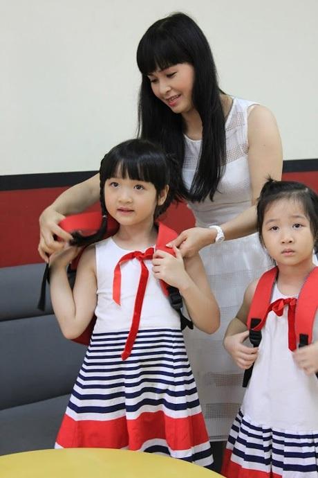 Ca sỹ Trang Nhung: Mathnasium là lựa chọn đúng đắn cho bé Bích Ngọc trong hè này